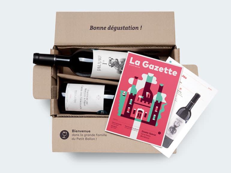 Le Petit Ballon : la Box surprise pour les amateurs de vin
