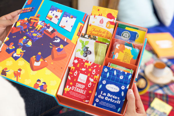 Les produits de la Thé Box