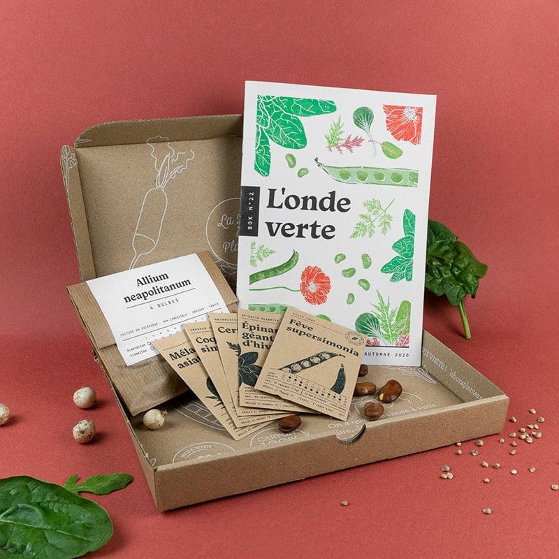 La Box à planter : la box jardinage bio