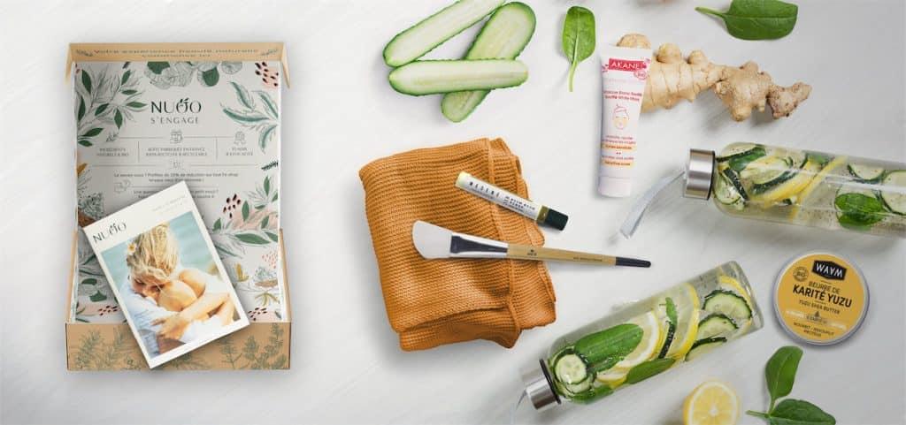 Nuoo Box : La Box surprise des cosmétiques bio et naturels
