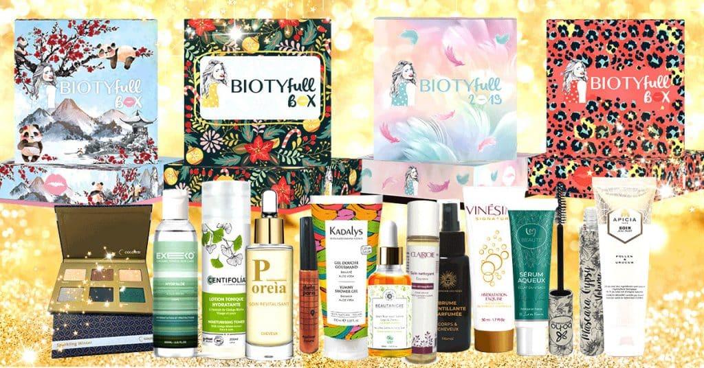 Biotyfull box : la box beauté full size !