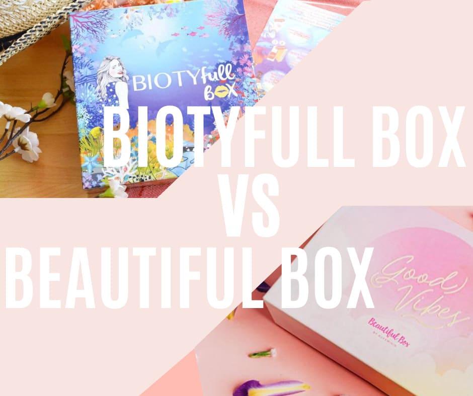Biotyfull Box VS Beautiful Box by aufeminin