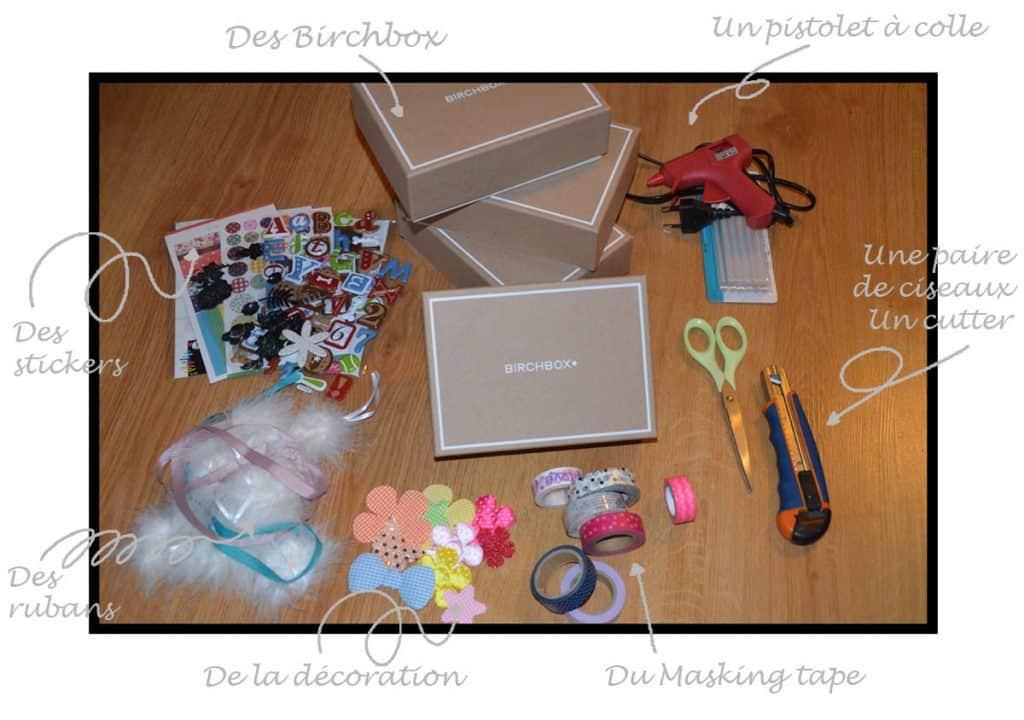 Tuto : comment customiser vos Box en commode