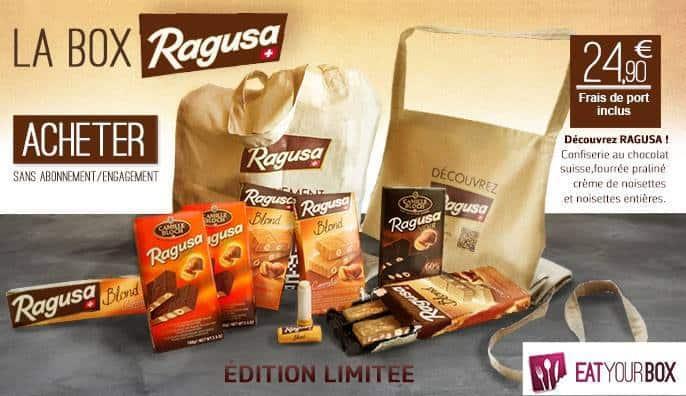 Eat Your Box lance sa box spéciale Ragusa