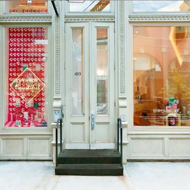 Birchbox lance sa première boutique !