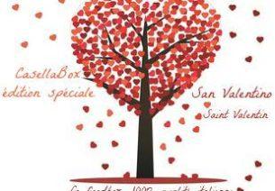 La Casella Box suggère d'offrir 3 mois d'abonnement pour la St Valentin