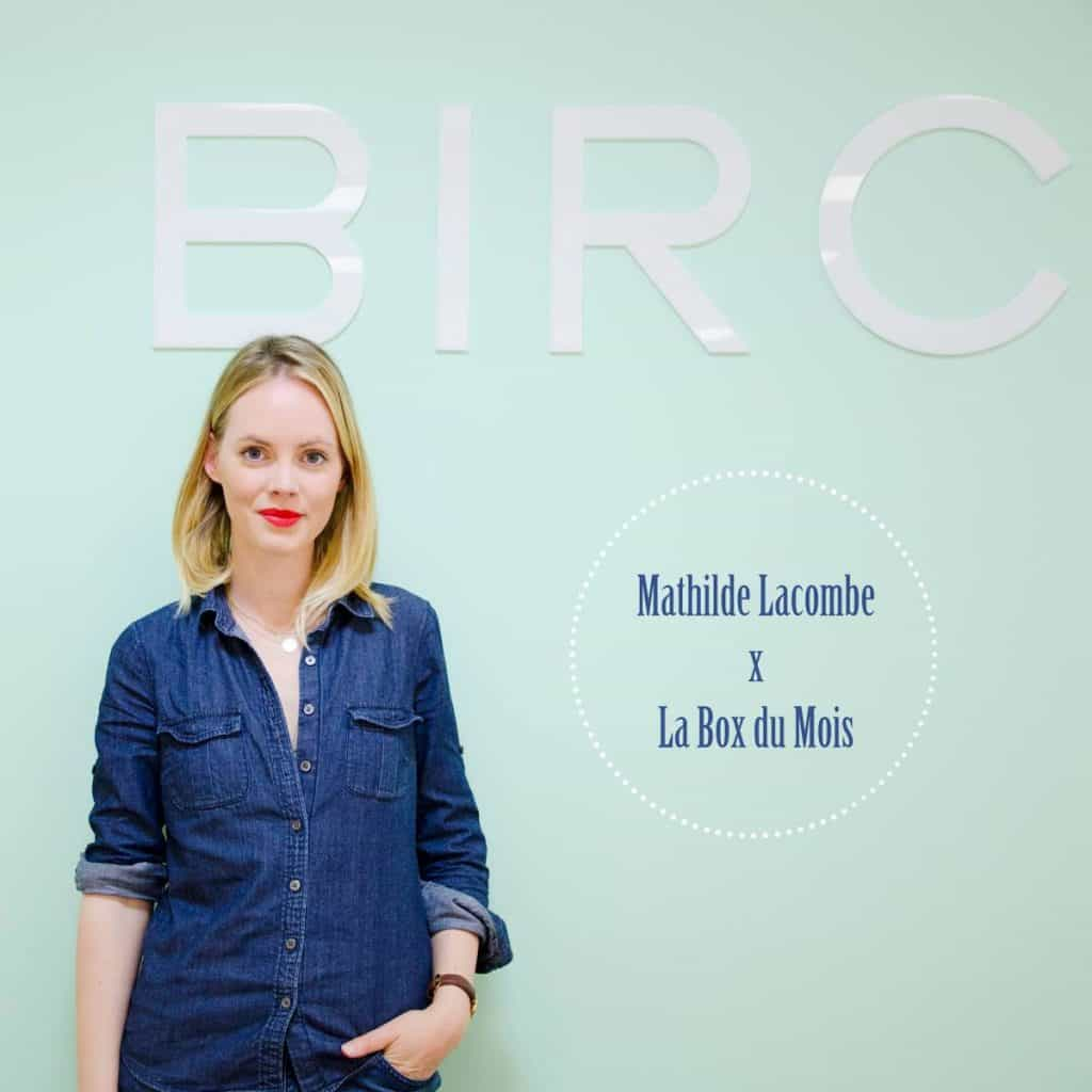 Interview de Mathilde Lacombe
