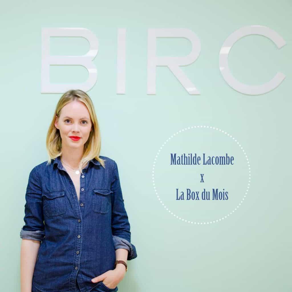 Interview de Mathilde Lacombe