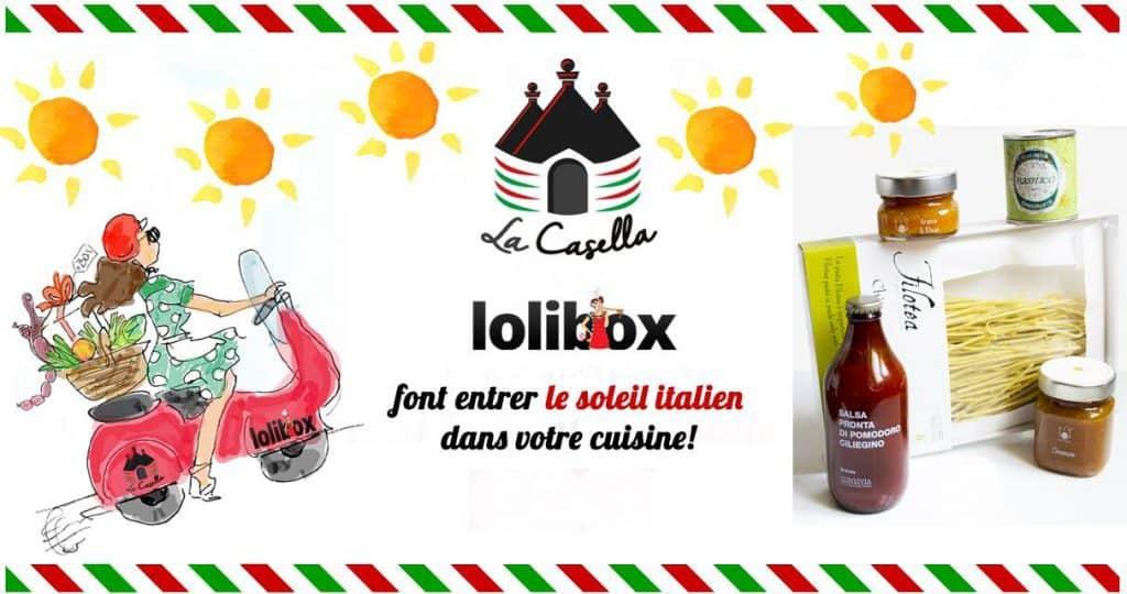 La Casella Box lance une box exclusive en collaboration avec Lolibox en Cuisine