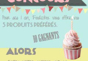 FoodizBox fête son premier anniversaire !
