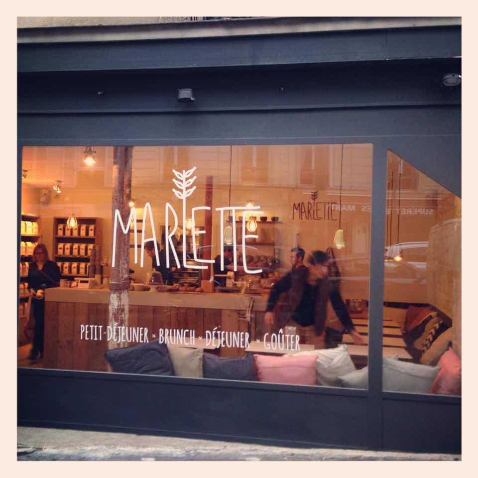 Marlette ouvre son café