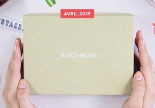 Frais de port offerts sur votre Birchbox