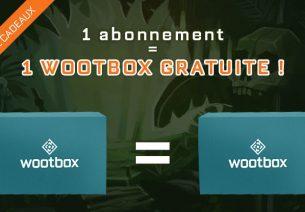 Wootbox gâte ses nouveaux abonnés avec une box offerte