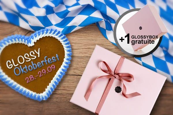 La Glossybox d'octobre gratuite pour l'Oktoberfest