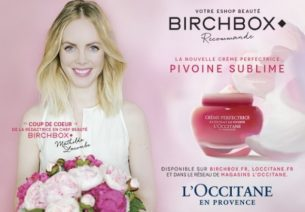 Birchbox X L'Occitane : Un concours pour découvrir la nouvelle gamme Pivoine