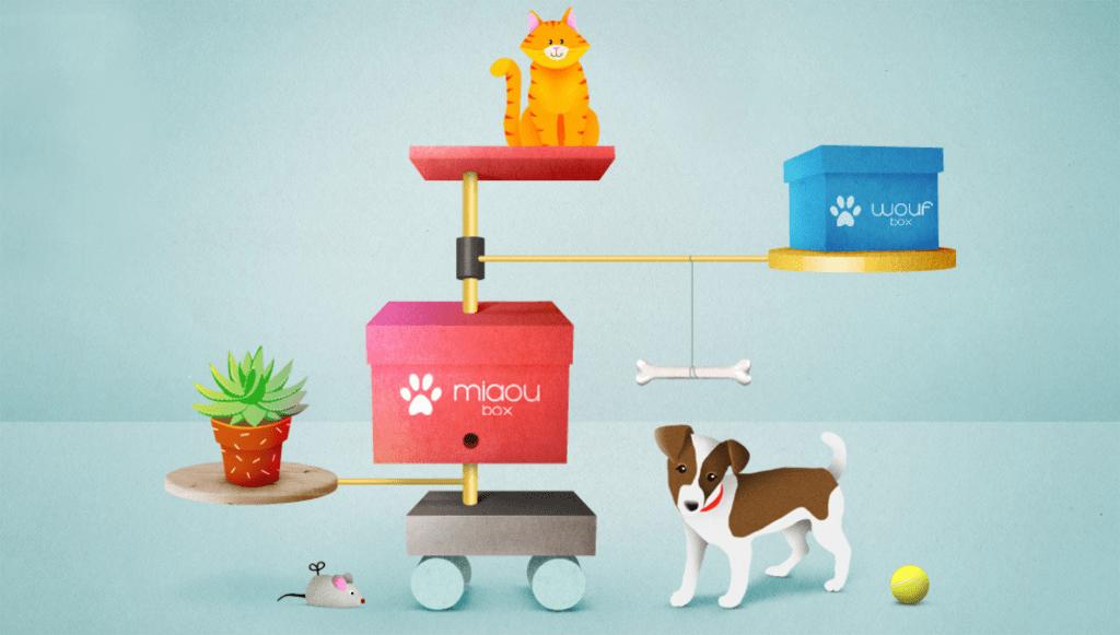 Miaoubox et WoufBox sur Vente privée