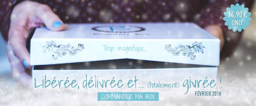 La Reine des Neiges s'invite dans la Beautiful Box