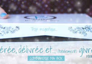 La Reine des Neiges s'invite dans la Beautiful Box