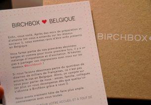 Birchbox débarque en Belgique