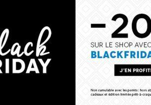 C'est l'heure du Black Friday chez Birchbox !