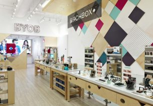 Birchbox : une boutique à Paris
