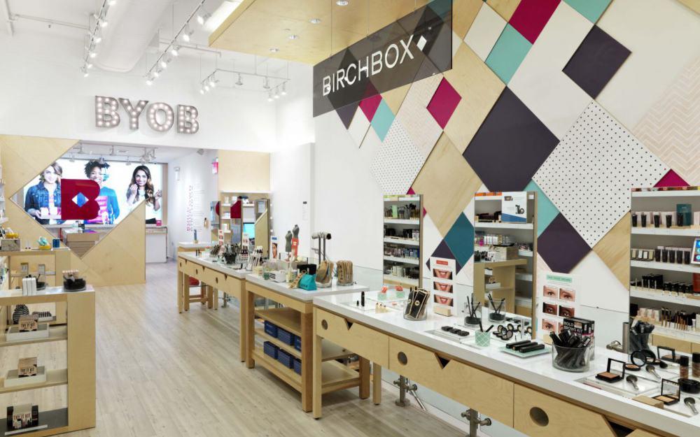 Birchbox : une boutique à Paris