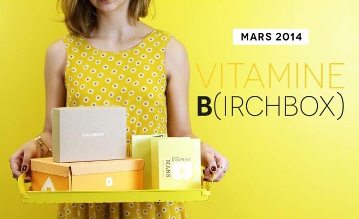 Birchbox dévoile le teasing de sa Box de mars
