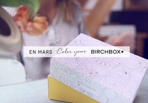 Découvrons la Birchbox de Mars 2015 grâce à une vidéo teasing
