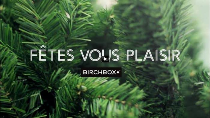 Découvrez le teasing vidéo de la BirchBox de Décembre