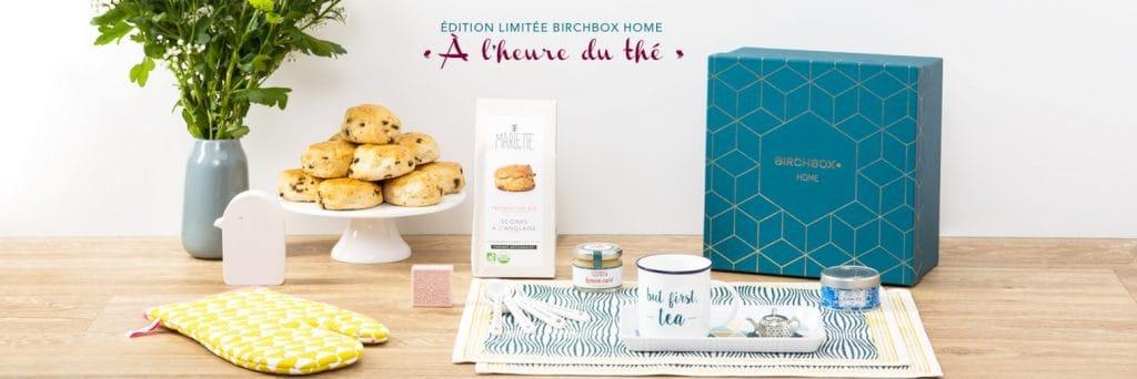 Birchbox Home 2015: A l'heure anglaise