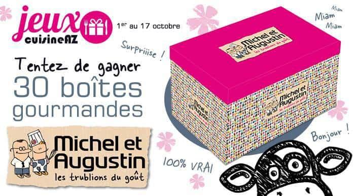 Michel et Augustin créé sa Box et vous en fait gagner