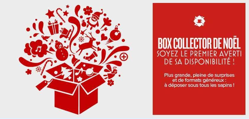 Box collector de Noël par Envouthé