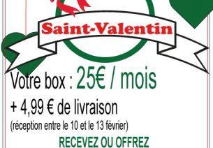 La Box Italienne propose une box spéciale St Valentin