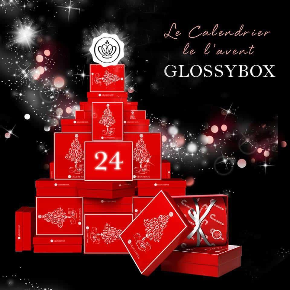 Le calendrier de l'Avent de Glossybox