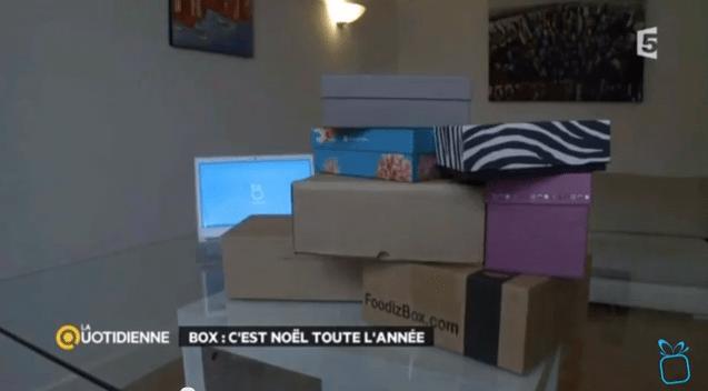 France 5 s'invite chez La Box du Mois