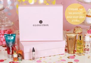 Glossybox d'Août 2016 : Un coffret anniversaire qui donne du pep's