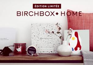 Birchbox Home : une nouvelle édition limitée avec The Socialite Family