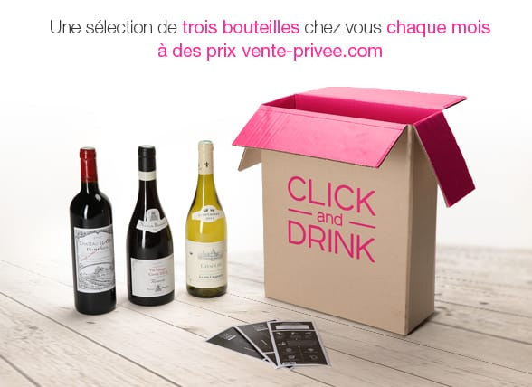 Click and Drink par Vente Privée