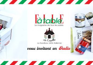 Une collaboration 100% gourmande avec la Casellabox et le magazine Elle à Table
