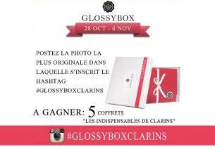5 coffrets Clarins par Glossybox à gagner !