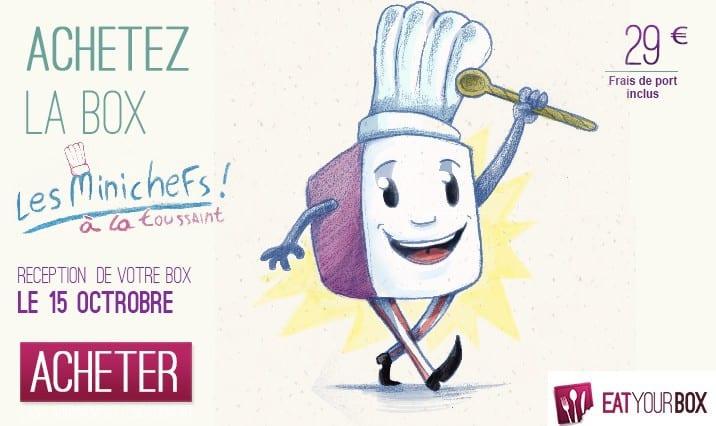Eat Your Box lance une box enfants