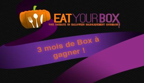 Remportez 3 mois d'abonnement avec Eat Your Box
