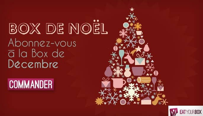 La box de Noël EatYour Box est disponible