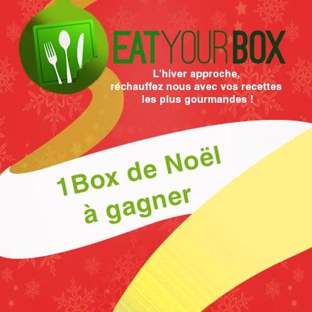 Gagnez la Eat Your Box de Noël