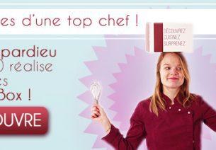 Tiffany Depardieu débarque chez Eat Your Box