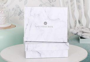 Glossybox de Septembre : un coffret tendance en marbre
