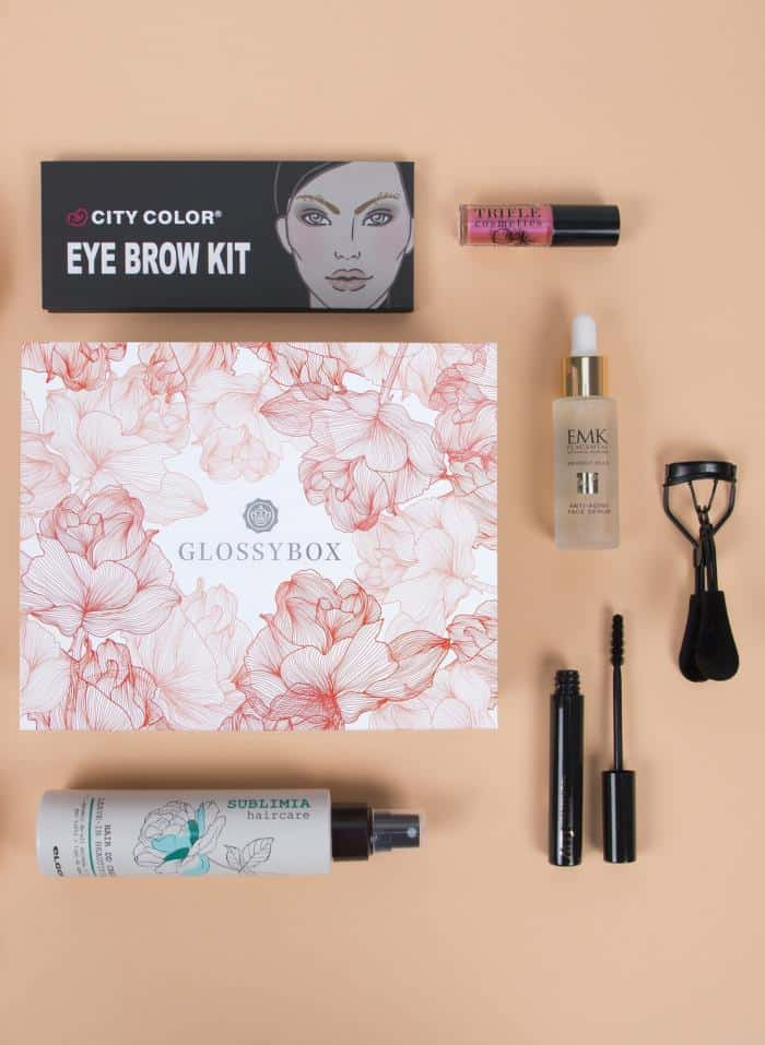 Glossybox nous remplit d'amour avec sa box « Filled with love »