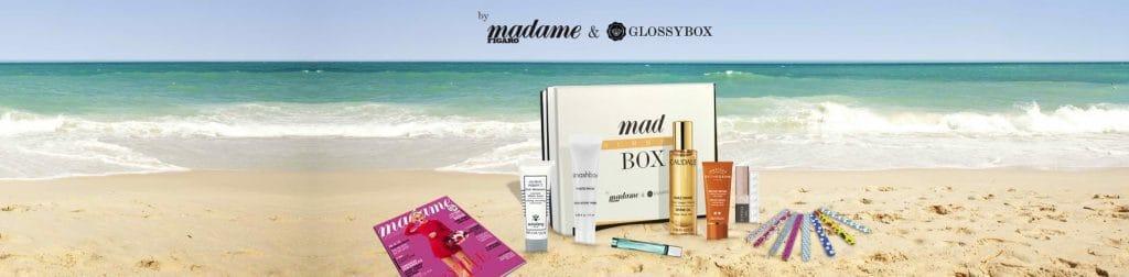 Glossybox vous offre la Mad Summer Box pour tout nouvel abonnement