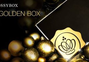 La Golden box 2013 de Glossybox est disponible