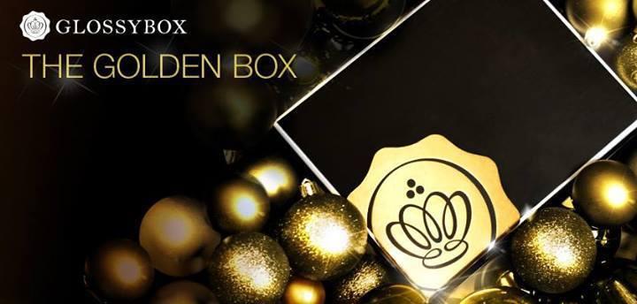 La Golden box 2013 de Glossybox est disponible